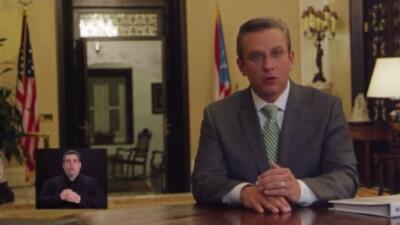 Mensaje del Gobernador de Puerto Rico