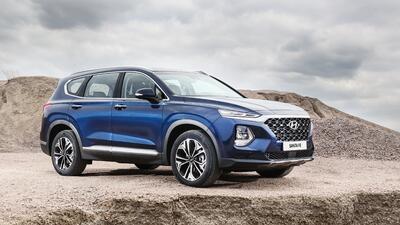 La Hyundai Santa Fe 2019 llega en el verano a EEUU con motor diésel y mucha tecnología