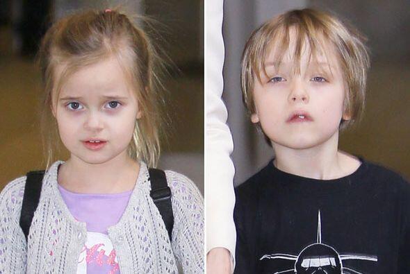Mira cómo han crecido los hijos de Angelina Jolie.