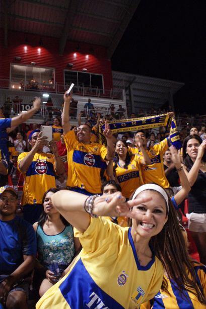 Toyota Field fue escenario del épico juego entre Tigres de UANL y Scorpi...