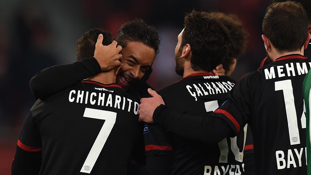Leverkusen avanza a 8vos. de Europa League