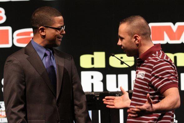 """Venimos a ganar este título"", amenazó Bedak. (PR Best Boxing/José Pérez)"