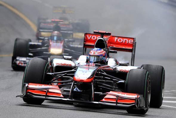 Jensun Button, el actual campeón de la Fórmula 1, esperaba otro buen res...