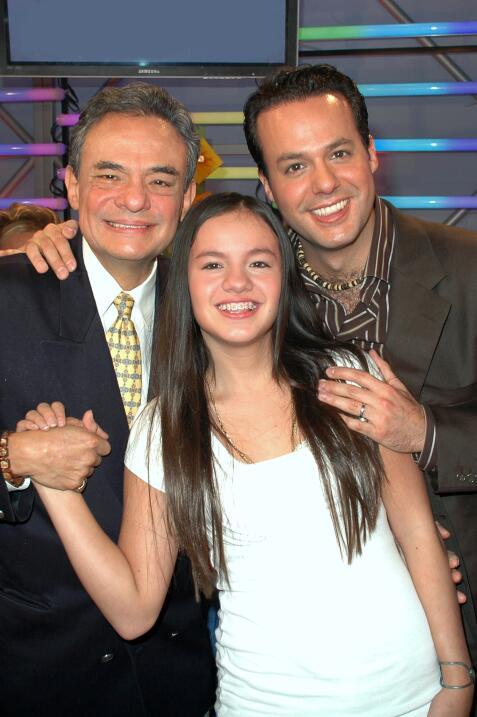 José José se reunió con sus hijos, Sarita y Jos&eac...