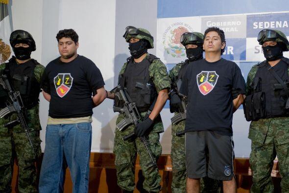 La lucha se centrará particularmente contra el cártel de Los Zetas, que...