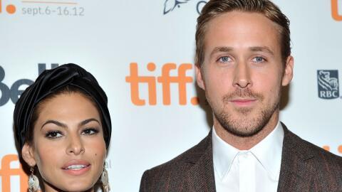 Mendes y Gosling en la premiere de 'The Place Beyond The Pines'