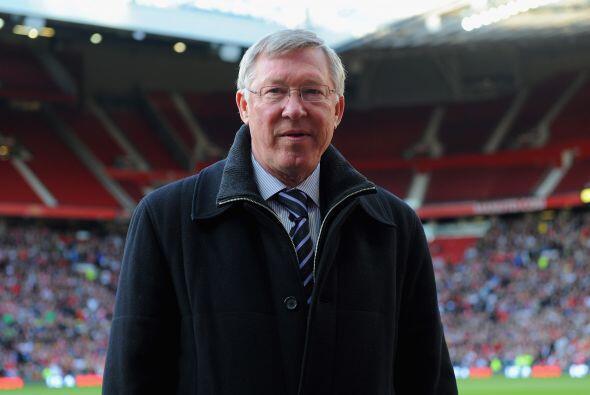 Por supuesto, Sir Alex Ferguson, quien formó a todos estos jugadores, te...