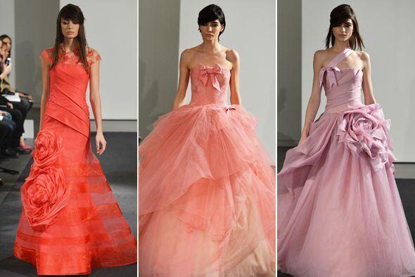La diseñadora consentida de las novias innovadoras, Vera Wang, la...
