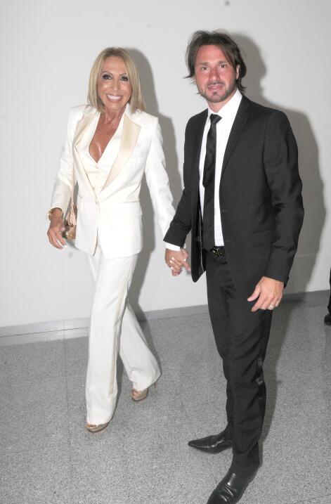 Cristian Zuárez y Laura Bozzo.