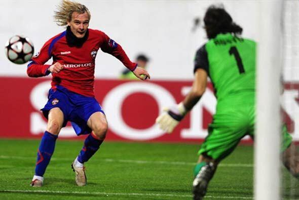 El CSKA aprovechó la caída del Wolfsburgo, y con su victor...
