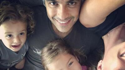 Jaime Camil se fue 'de cacería' con sus hijos el fin de semana