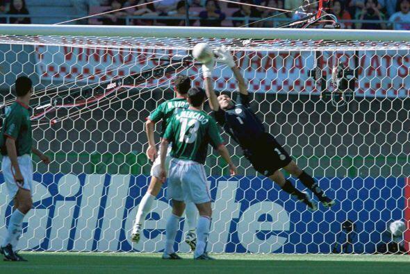 El 'Conejo' fue uno de los jugadores más destacados de México en el Mund...