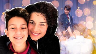 Con una celebración judía, el hijo de la cantante Karina paso a la adolescencia