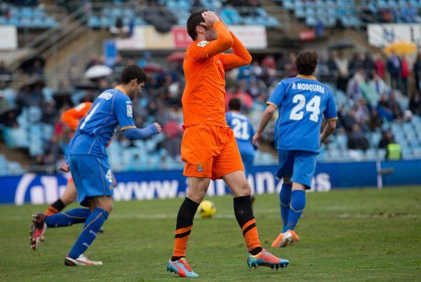 Getafe le puso empeño al partido logró el empate final a dos goles en la...