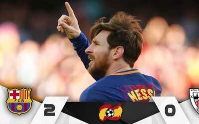 Leo marcó su gol número 25 en lo que va del certamen espa&...