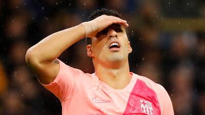 En fotos: Barcelona sin Messi cortó su racha ganadora en Champions y aplaza su clasificación