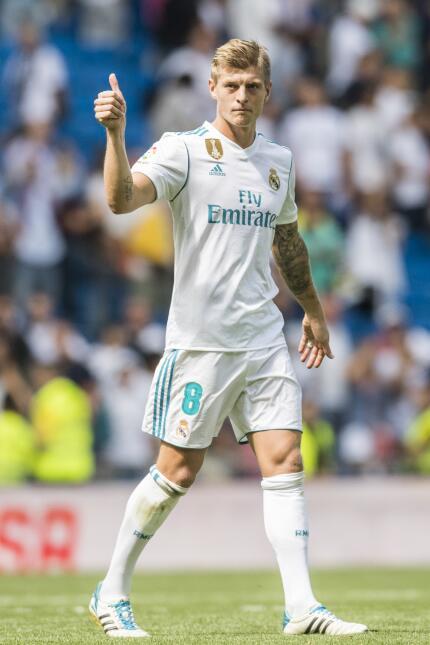 9. Toni Kroos (Real Madrid) - Puntaje: 90