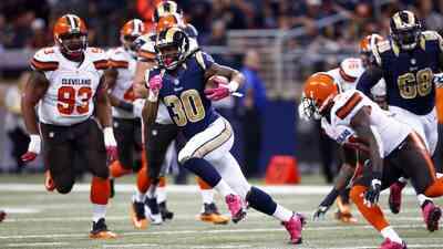 Browns 6 - 24 Rams: El novato Gurley corrió 128 yds con 2 TD para doblar...