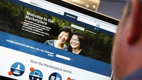 Casi 11,8 millones de estadounidenses solicitaron cobertura de Obamacare...