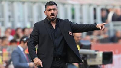 Gennaro Gattuso y su sueño cumplido de haber jugado en el Milan y ahora dirigirlo