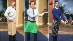 En fotos: así lucen la falda masculina Carlos Calderón, Alan Tacher y el chef Yisus