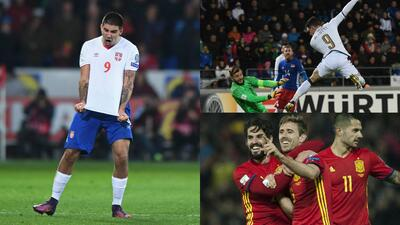 Intensidad y muchos goles en la jornada eliminatoria de Europa