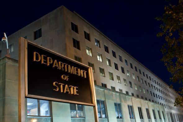 Los cables y memorandos salieron del Departamento de Estado en Washingto...