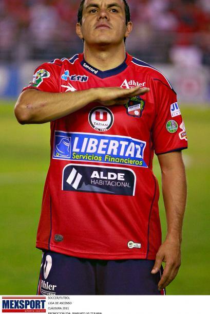 Jugó 6 meses y luego se marchó para el Irapuato.