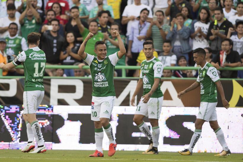 El León está hecho una 'Fiera' tras vencer 3-1 al Pachuca gol-luis-monte...