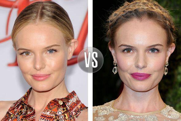 El pelo trenzado no es lo de Kate Bosworth, mejor que se quede con una i...