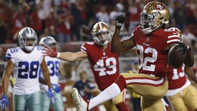 Los 49ers le dan la vuelta a los Cowboys en la Semana 1 de la pretemporada de la NFL