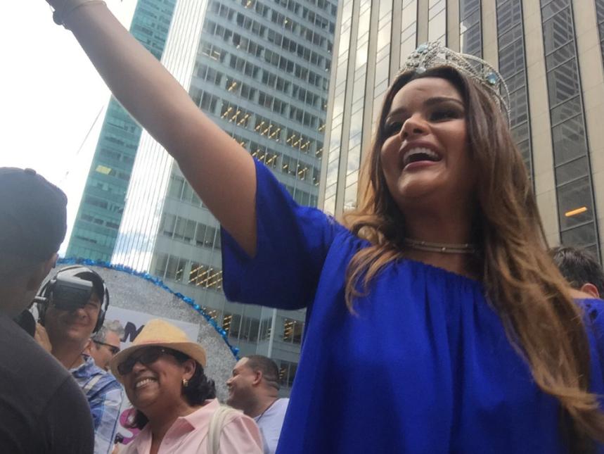 Nuestra Belleza Latina, Clarissa Molina, vibró de la emoción.