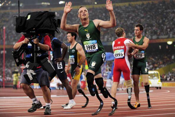 En su momento, la IAAF determinó que sus prótesis lo hacían inelegible p...