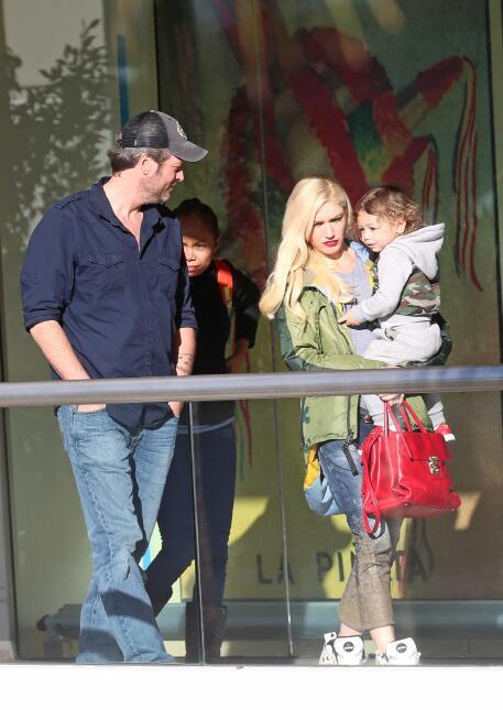 Gwen Stefany y Blake Shelton