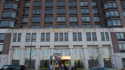 """""""Trump Place"""", nunca más: le quitan el apellido a tres edificios en Manhattan"""