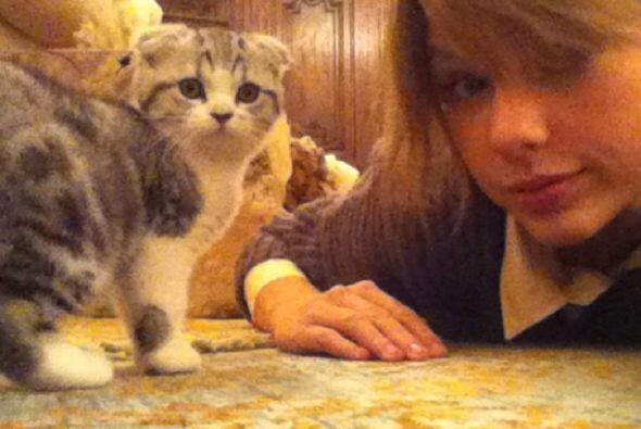 La cantante y amante de la moda, Taylor Swift no va a ningún lado sin su...
