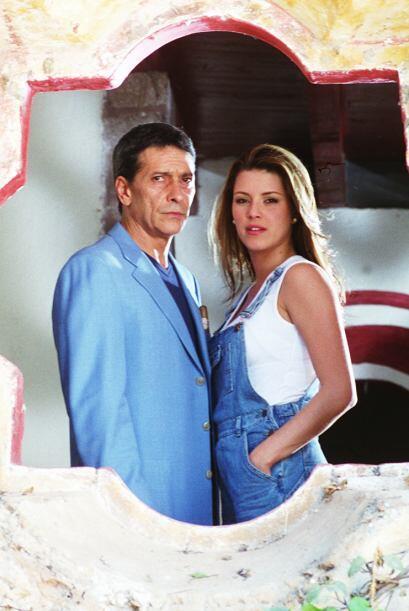 """""""Infierno en el Paraíso"""" protagonizada por Alicia Machado y Juan Ferrara..."""
