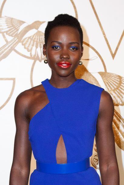 Estrella de Hollywood, ganadora del Oscar  y ahora Lupita Nyong'o es la...