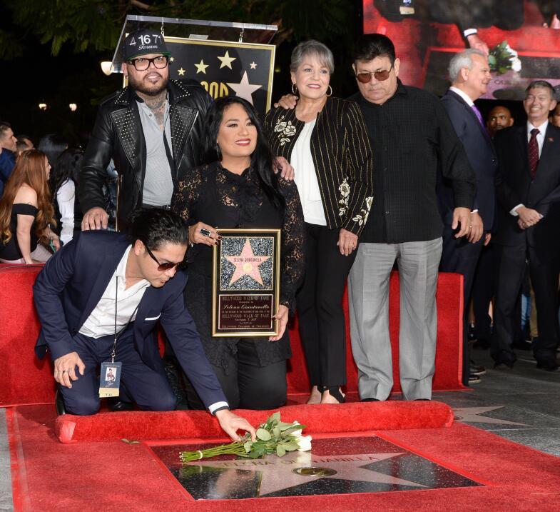 Develación de la estrella de Selena Quintanilla