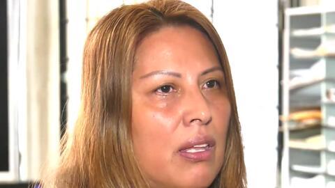 """""""Yo no soy criminal, nunca le he pedido nada al gobierno"""", mexicana refu..."""