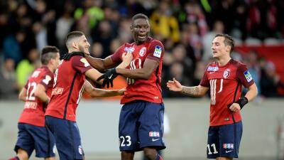 Lille golea al Burdeos y se clasifica para final de la Copa de la Liga francesa
