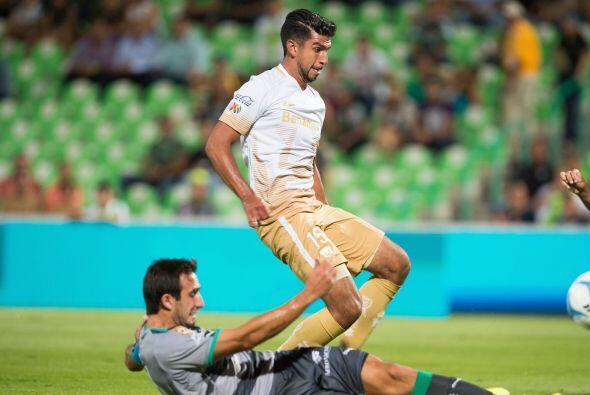 Eduardo Herrera también es uno de los hombres gol de Pumas, el delantero...