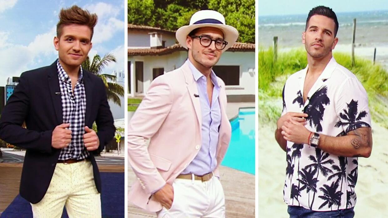 Nuestros guapos modelos desfilaron las últimas tendencias en moda mascul...