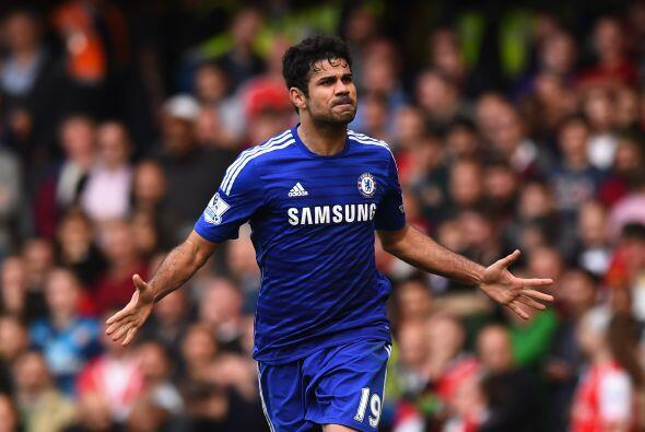 Diego Costa es el centro delantero nato que necesitaba el Chelsea de Mou...