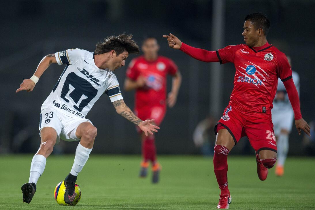 En fotos: Pumas UNAM pasó a cuartos de final tras vencer 3-0 a Lobos BUA...