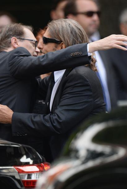 Familiares y amigos de James Gandolfini se dieron cita el día de hoy en...