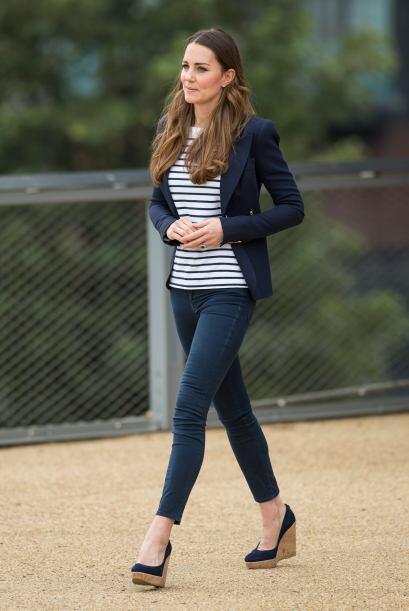 Kate Middleton está de vuelta. Mira aquí lo último en chismes.