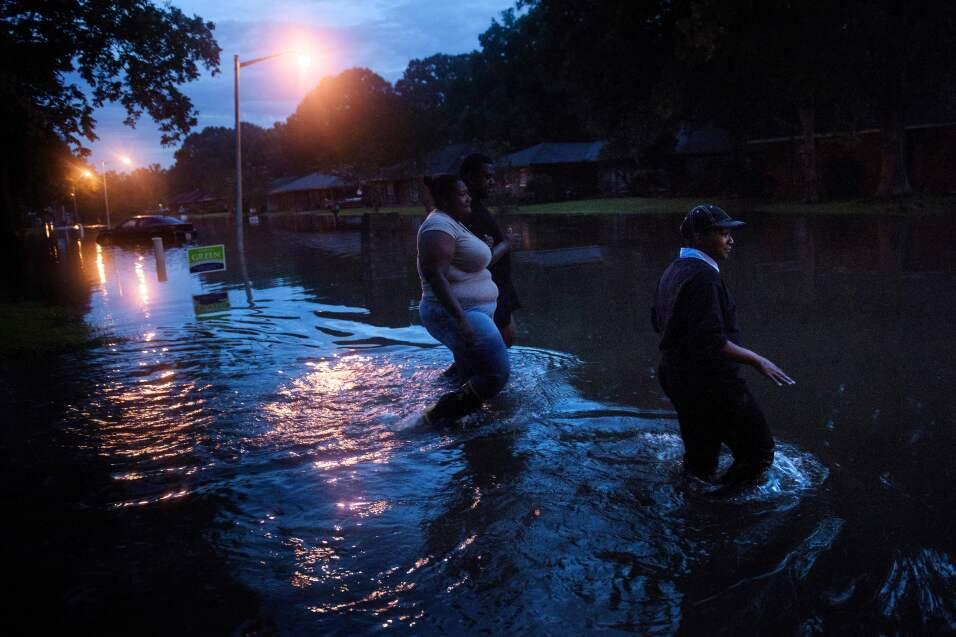 Inundaciones Louisiana