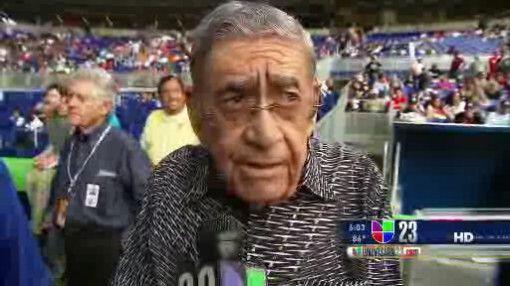 Felo Ramirez se enfrentó al comentario del entonces manager de lo...