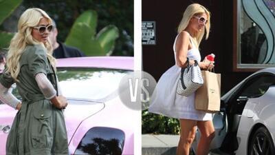 ¿En que auto se ve mejor Paris Hilton?